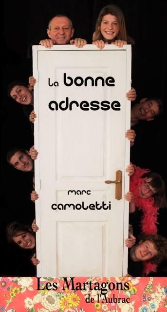 Affiche de la saison 2016 : La Bonne Adresse, Marc Camoletti